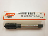 Sowa Tool M12 x 1.75 D6 Spiral Point Red Ring Tap CNC Style 48 HRC 124-535 ST23