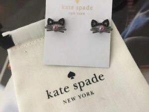KATE SPADE New York Out West Cat Ear Earrings Jacket
