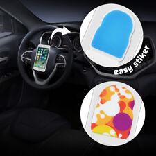 2Pcs Universel Support Téléphone Portable Autocollant Lavable Collant Voiture NF