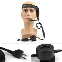 1Pc HD01 Z Tactical Elite Bowman Headset Waterproof PTT For Midland LXT210 BS2