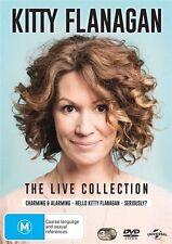 Kitty Flanagan - Live (DVD, 2017, 3-Disc Set)
