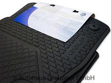 Volkswagen Gummifussmatten Satz VW Golf 7 vorn hinten Gummimatten Gummi Fußmatte