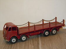 Foden Flat Truck with Chains van Dinky SuperToys 905 England *15716