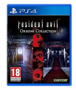 Resident Evil Origins Collection PS4 - NEW