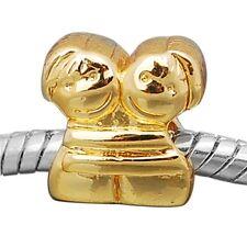 """ANDANTE-STONES 14K GOLD BEAD FREUNDE FREUNDSCHAFT """"FREUNDINNEN"""" #1447 + GESCHENK"""