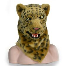 Halloween Moving Mouth Leopard Mask