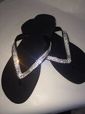 Crystal flip flops Havaianas made with SWAROVSKI Elements Bling crystal