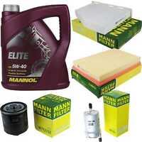 Motor-Öl 5L MANNOL Elite 5W-40+MANN-FILTER Skoda Octavia Combi 1Z5 1.4