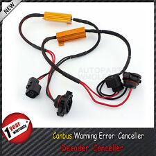 2× H16 5202 Decoder Load Resistors Canbus Warning Error Canceller For Fog Light