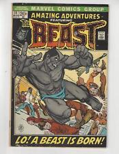 Amazing Adventures #11/Bronze Age Marvel Comic/1st Furry Beast/VG-FN