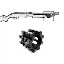 "Tactical 5 Position Tri Rail Picatinny Mounts 1 "" Shotgun Barrel Ring  Magazine"