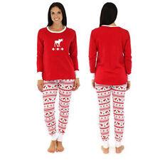 US Family Matching Christmas Pajamas Set Women Baby Kids Sleepwear Nightwear