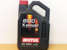 8,98 €/L Motul 8100 X-Power 10w-60 5 LTR para Motorsport BMW M, etc.