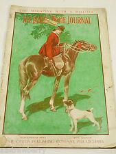 VTG The Ladies Home Journal Magazine November 1904 Illustrated Advertisment