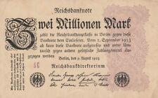 * Ro. 103c - 2 millones de Mark-Deutsches Reich - 1923-Fz: SC *
