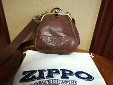 borsello donna ZIPPO originale vintage in pelle - USATO ma perfetto 0dfd986d735