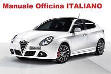 Alfa Romeo GIULIETTA (2010/2015) Manuale Officina Riparazione ITALIANO