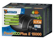 SF Teichpumpe Pond ECO Plus E 15000, 130 Watt Filterpumpe Bachlaufpumpe