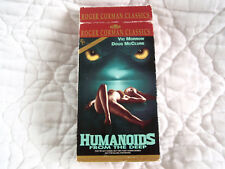 HUMANOIDS FROM THE DEEP VHS ROGER CORMAN HORROR SCI-FI RAPE DIGITALLY REMASTERED