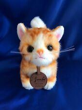 Kitten Meya Gold Handmade Made In Japan Cat Plush Doll tracking number