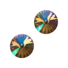 Genuine swarovski 1122 rivoli ronde pierres crystal purple haze f 12mm (E100/18)