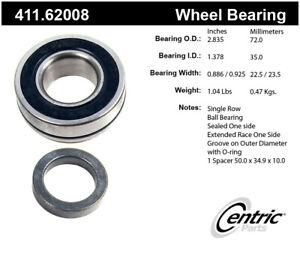 Wheel Bearing  Centric Parts  411.62008