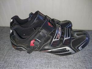 Specialized BG Body Carbon Road Bike Shoes EU 44 US Men 11 Black 3 Bolt