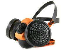 Profi Atemschutz Gasmaske Lackiermaske Atemschutzmaske Halbmaske mit Filtern A1