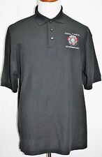 TEXAS HOLD EM POKER TOURS FINAL TABLE NOVEMBER 2010 Embroidered Polo Black XL