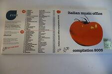 RARE CD PROMO ITALIAN FOLK RAP POP DELTA V AMARI 99 POSSE ESTRA MAU MAU.....