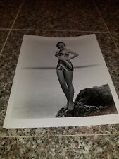 VINTAGE 8 X 10 PHOTOGRAPH FROM IRVING KLAWS ARCHIVES OF RUTH ROMAN LOT #1