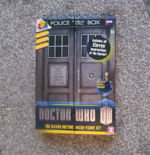Doctor Who Personaggio Undici Dottori 50th ANNIVERSARIO micro-Figure Set