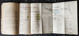 VINTAGE WAR OFFICE BOOK.NOTES ON MAP READING 1929.REPRINTED IN JUNE 1939.LONDON.