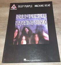 DEEP PURPLE - MACHINE HEAD - GUITAR TAB BOOK - TABLATURE MUSIC SONGBOOK