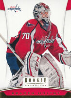 Braden Holtby 2012-13 Panini Rookie Anthology #76 Capitals Hockey card