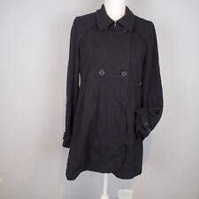 c858b69a67 Theory sz L Jacket Black Stretch Blazer Coat Womens w8