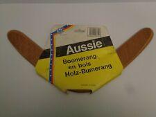 VINTAGE Boomerang ...Aussie .. Hans Postler