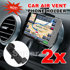 2X Universal Car Air Vent Mount Holder Stand For iPhone 6S 7 plus Cell Phone GPS