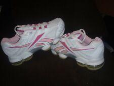 Women's SZ 5.5 REEBOK DMX RUNNING/TRAINING SHOES silver/white/pink/Hot lips *NWB