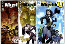 Full Run Mystik U #1 To #3 Zatanna Free Shipping