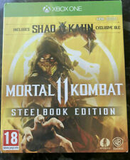 Mortal Kombat 11 Steelbook Edition - Xbox One X brand new and sealed