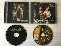 ALISHA'S ATTIC - ALISHA RULES THE WORLD & THE HOUSE WE BUILT - 2 CD Album Bundle