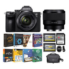 Sony Alpha a7 III Mirrorless Digital Camera with 28-70mm Lens & 50mm Lens Bundle