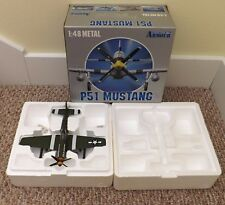 FRANKLIN MINT 1:48 ARMOUR P-51 MUSTANG OLD CROW USAAF WWII ACES ART 98006
