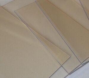 Kaminglas Ofenglas 32x32 cm Glasscheibe für Kaminofen Hitzebeständiges Glas