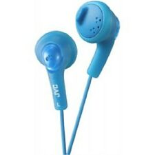 Blue JVC Gummy/Gummy HAF160 Headphone Earphones for iPhone/iPad/iPod/Samsung/MP3