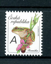 Czech Republic 2016 MNH Tree Frog 1v Set Frogs Amphibians Stamps