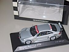 Mercedes CLK 2000 DTM TEST CAR SUPER VERY Rare Minichamps 1/43