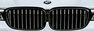 BMW OEM G11 G12 7 Series 2016-19 M Performance Gloss Black Front Grille Pair NEW