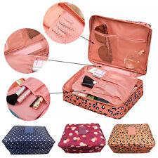 Travel Cosmetic Makeup Bag Wash Toiletries Organizer Case Storage Pouch UK
